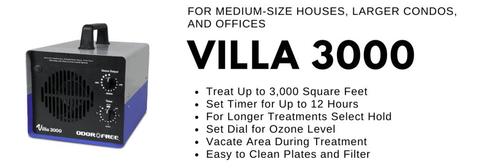 OdorFree Villa 3000